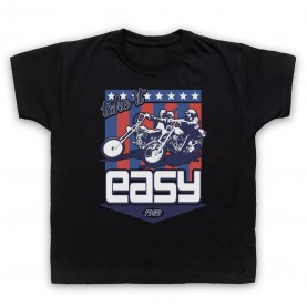 Easy Rider Take It Easy Kids Black T-Shirt