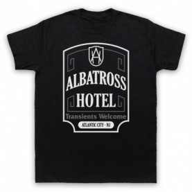 Boardwalk Empire Albatross Hotel Mens Black T-Shirt