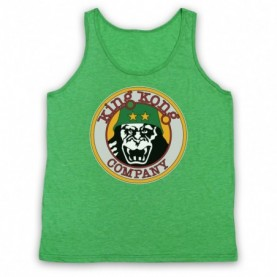 Taxi Driver King Kong Company Adults Heather Green Tank Top