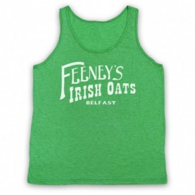 Boardwalk Empire Feeney's Irish Oats Adults Heather Green Tank Top