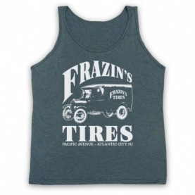 Boardwalk Empire Frazin's Tires Adults Heather Slate Tank Top
