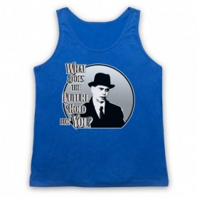 Boardwalk Empire Nucky Thompson Adults Royal Blue Tank Top