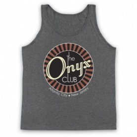 Boardwalk Empire The Onyx Club Adults Heather Grey Tank Top