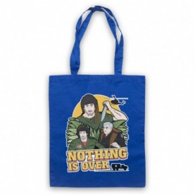 Rambo First Blood Nothing Is Over Royal Blue Tote Bag