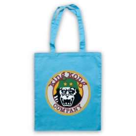 Taxi Driver King Kong Company Light Blue Tote Bag