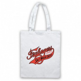 Boardwalk Empire Fralinger's Salt Water Taffy White Tote Bag