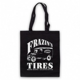 Boardwalk Empire Frazin's Tires Black Tote Bag