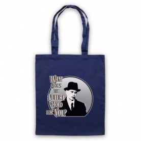Boardwalk Empire Nucky Thompson Navy Blue Tote Bag