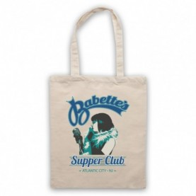 Boardwalk Empire Babette's Supper Club Woman Singer Natural Tote Bag