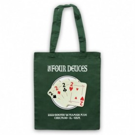 Boardwalk Empire The Four Deuces Dark Green Tote Bag