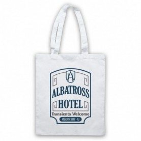 Boardwalk Empire Albatross Hotel White Tote Bag
