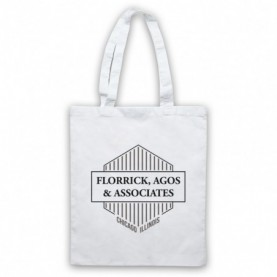 Good Wife Florrick Agos & Associates White Tote Bag