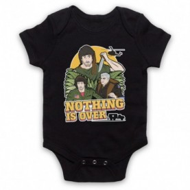 Rambo First Blood Nothing Is Over Black Baby Grow