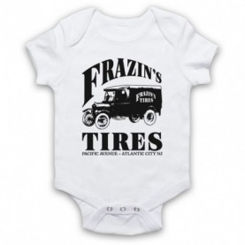 Boardwalk Empire Frazin's Tires White Baby Grow