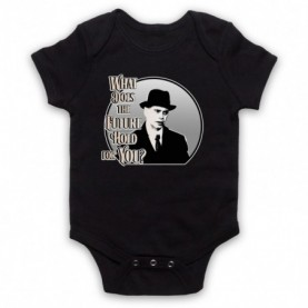 Boardwalk Empire Nucky Thompson Black Baby Grow