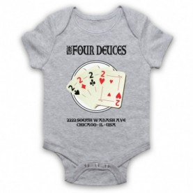 Boardwalk Empire The Four Deuces Heather Grey Baby Grow