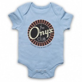 Boardwalk Empire The Onyx Club Light Blue Baby Grow