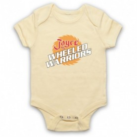 Jayce And The Wheeled Warriors Logo Light Yellow Baby Grow