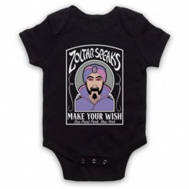 Big Zoltar Speaks Fortune Teller Machine Black Baby Grow