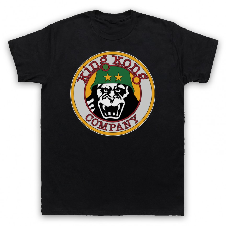 Taxi Driver King Kong Company Mens Black T-Shirt