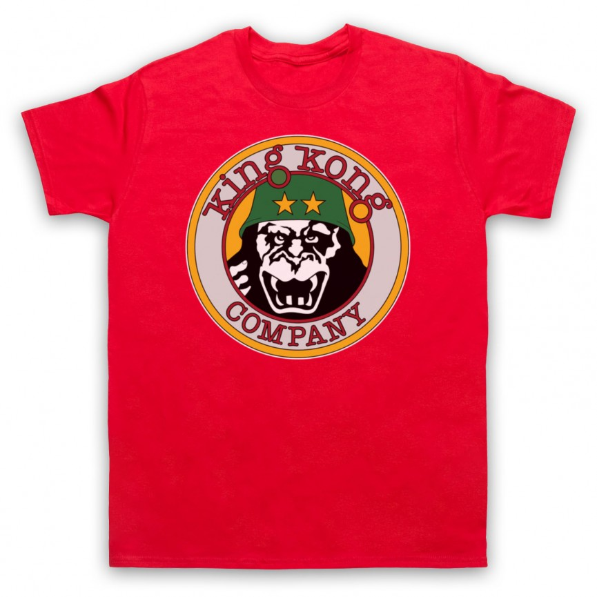 Taxi Driver King Kong Company Mens Red T-Shirt