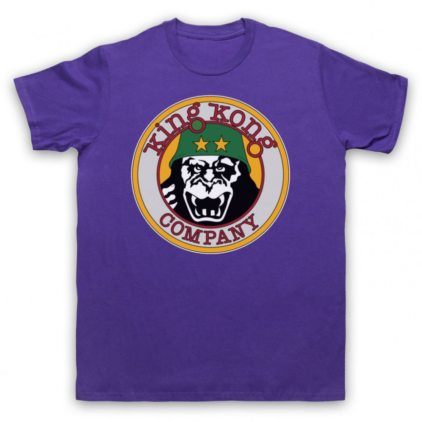 Taxi Driver King Kong Company Mens Purple T-Shirt