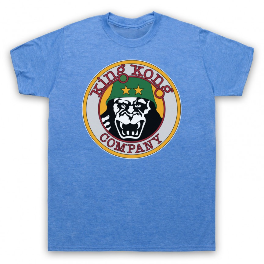 Taxi Driver King Kong Company Mens Heather Blue T-Shirt