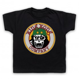 Taxi Driver King Kong Company Kids Black T-Shirt