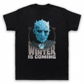 Game Of Thrones The Night's King Mens Black T-Shirt