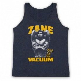 Frank Zane King Of The Vacuum Bodybuilder Adults Heather Navy Blue Tank Top