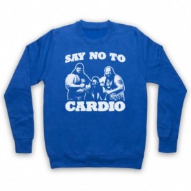 Say No To Cardio Earthquake Typhoon Wrestlers Hoodie Sweatshirt Hoodies & Sweatshirts
