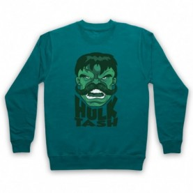 Hulk Tash Parody Incredible Hulk Smash Slogan Hoodie Sweatshirt Hoodies & Sweatshirts