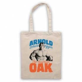 Arnold Schwarzenegger The Austrian Oak Bodybuilder Natural Tote Bag