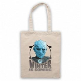 Game Of Thrones The Night's King Natural Tote Bag