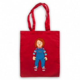 Child's Play Chucky Doll Red Tote Bag
