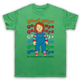 Child's Play Good Guy Chucky Doll Mens Green T-Shirt