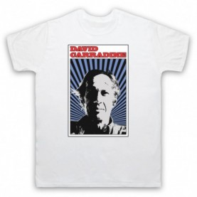 David Carradine Barefoot Legend Mens White T-Shirt
