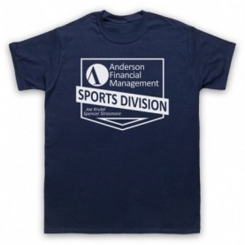 Ballers Anderson Financial Management Mens Navy Blue T-Shirt