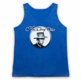 David Carradine Kwai Chang Caine Adults Royal Blue Tank Top