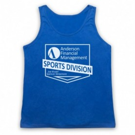 Ballers Anderson Financial Management Adults Royal Blue Tank Top