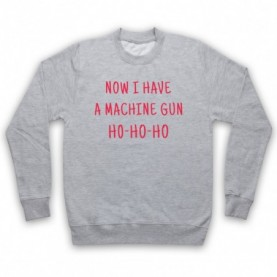 Die Hard Now I Have A Machine Gun Ho Ho Ho Hoodie Sweatshirt Hoodies & Sweatshirts