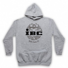 Scrooged IBC Yule Love It Adults Heather Grey Pullover Hoodie