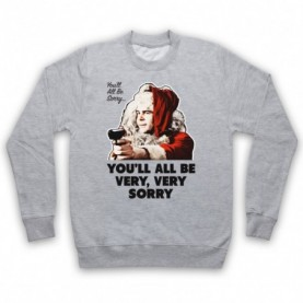 Trading Places You'll All Be Very Very Sorry Adults Heather Grey Sweatshirt