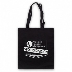 Ballers Anderson Financial Management Black Tote Bag