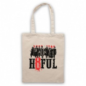 Hateful Eight H8ful Characters Natural Tote Bag