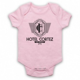 American Horror Story Hotel Cortez Light Pink Baby Grow
