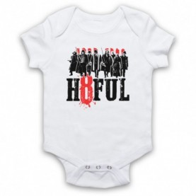 Hateful Eight H8ful Characters White Baby Grow