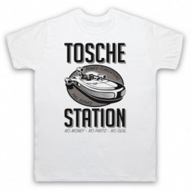 Star Wars Tosche Station Mens White T-Shirt