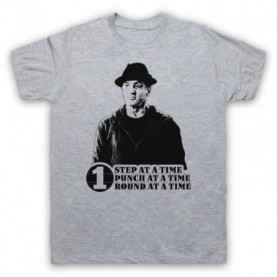 Creed Rocky One Step At A Time One Round One Punch Mens Heather Grey T-Shirt