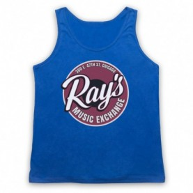 Blues Brothers Ray's Music Exchange Adults Royal Blue Tank Top